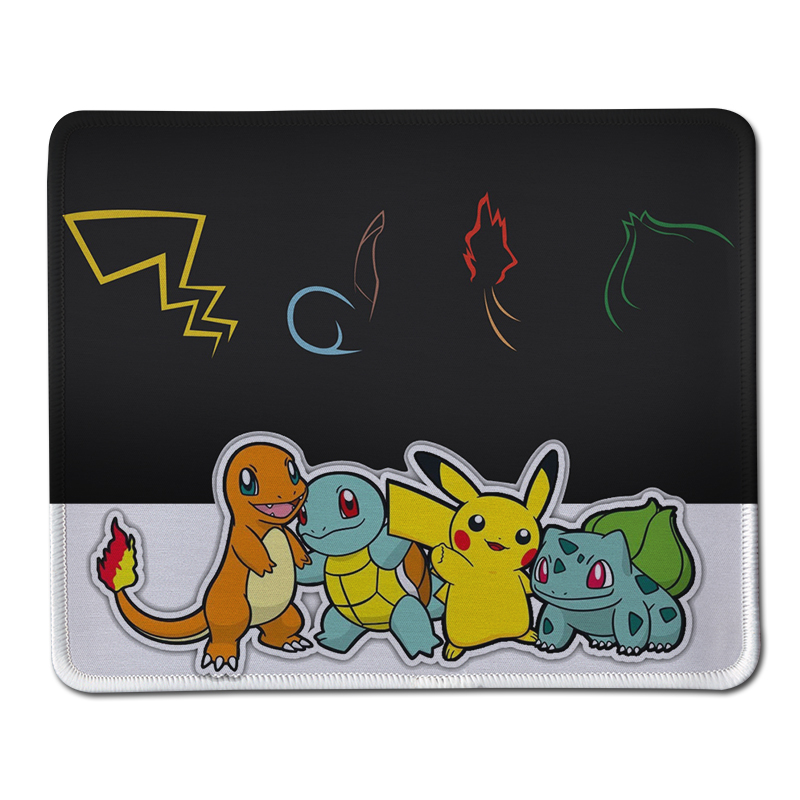 Hot Sale Anime Pikachu Pokemon Luxury Gamer Gaming Computer Mouse Pad Anti-Slip Stitched ...