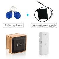 Home Mini Combination Lock electronic Drawer lock Keyless rfid cabinet lock