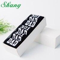 BAMBOO WATER SHANG Men S Elite Socks MEN Cotton Breathable Printed Letter Socks Gift Box Packaging