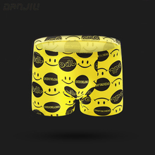 DANJIU Hot New Fashion Sexy Quality Men's Boxer Shorts Cotton Cartoon Underwear Mans Breathable Panties Male Funny Underpant