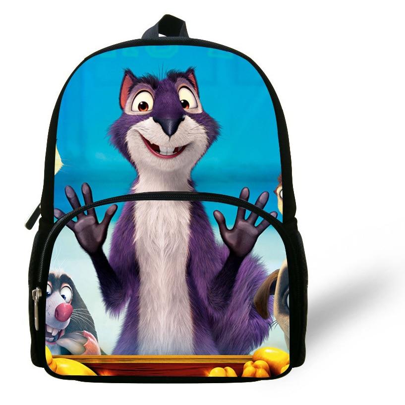 ... girls boys children backpacks school bag cartoon animals dinosaurs  Mochila Infantil  12 inch Cute Cartoon Bag The Nut Job Backpack Child  Kindergarten ... cea5d19989