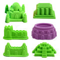 6Pcs/Set Sand Mold Sandcastle Beach Sand Toy Baby Children Educational Mould