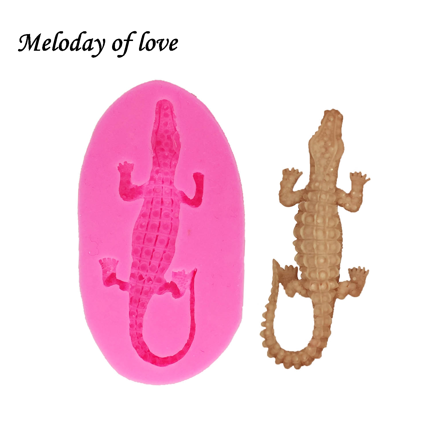 Liberal 3d Gecko Form Silicone Mold Fondant Cookie Baking Chocolate Cake Decorating Tools Resin Clay Mold Dy0027 In Pain Home & Garden Clay Extruders