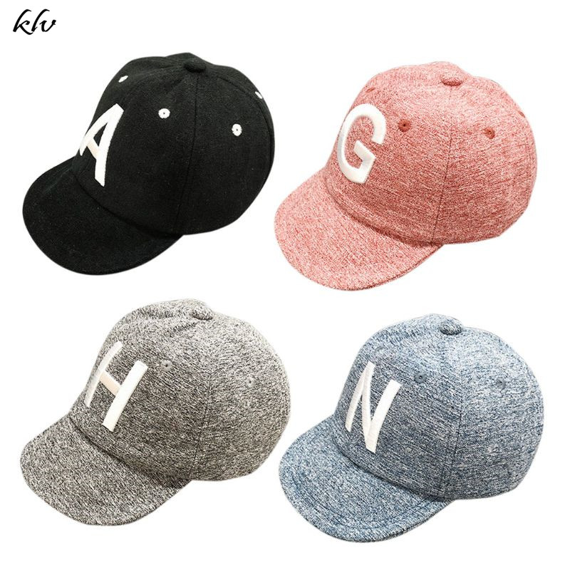 Baby Children Kids Boy Girl Embroided English Letter Flat Casquette Hat Corduroy Sun Cap Baseball Fashion Spring Summer Fall in Hats Caps from Mother Kids