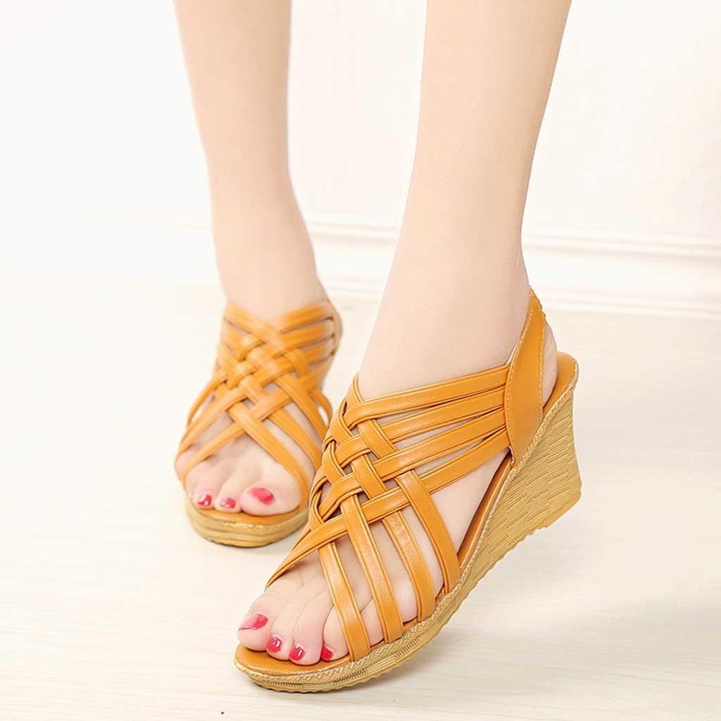 Gladiator Sandal Casual-Shoes Spring High-Platforms Fashion Summer Checkered-Belt