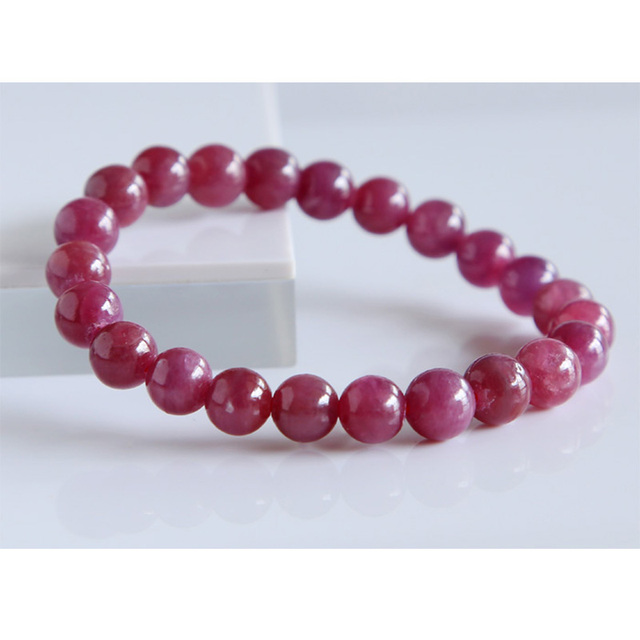 sterling gemstone bracelet red ruby ca inch en silver product icecarats