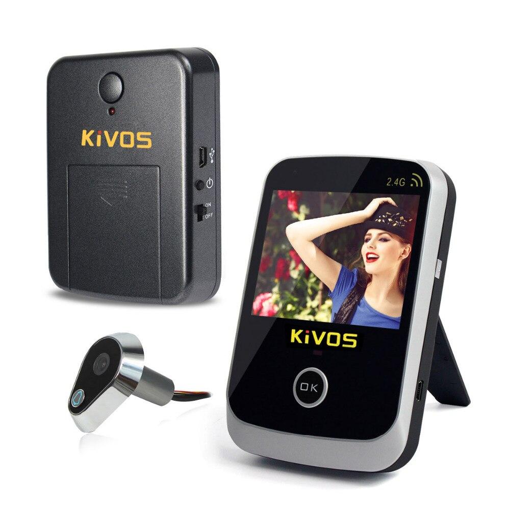 KiVOS 3 5 Digital Door Eye Peephole Door Viewer Wireless Video Doorbell Camera Monitor for Home