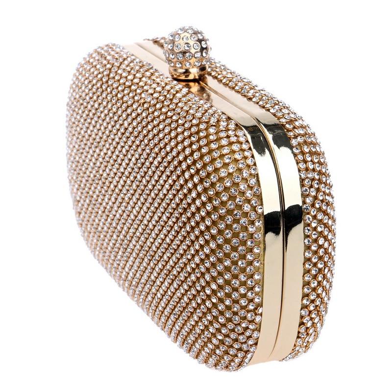 5c5e6d285c8c2 ᐅSEKUSA الماس الفاخرة أكياس مساء كلاسيكي حجر الراين الفاصل يوم ...