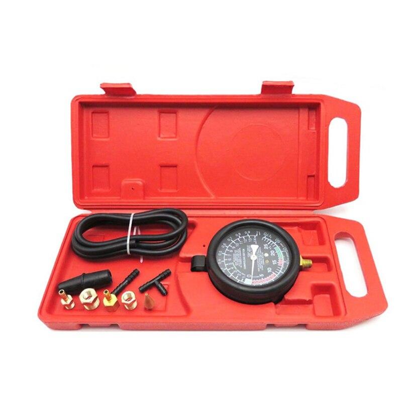 Truck Universal Repair Pump pressure meter Tool Engine Vacuum Fuel Car Seal Leakage Tester Set Useful Portable