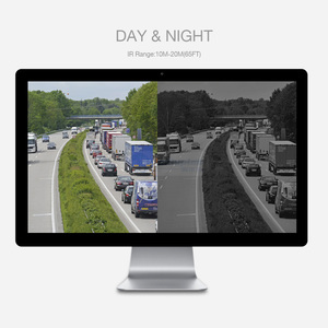 Image 4 - 4Ch AHD caméra de vidéosurveillance Kit de système de sécurité étanche 4x1080P 2.0MP caméras de sécurité IR vision nocturne ensemble de Surveillance extérieure