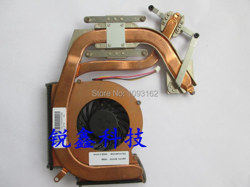 New Original CPU cooling heatsink /fan for Lenovo Thinkpad SL410 SL410K SL510 SL510K laptop independent graphics 60Y4726 60Y4727 1pcs original new laptop cpu heatsink for dell d620 d630 d631