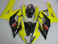 Injection mold Top selling fairing kit for Suzuki GSXR1000 k5 k6 green black fairings set GSXR1000 2005 2006 LY35