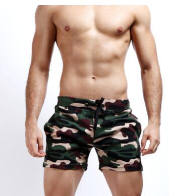1pcs/lot free shipping male Camouflage shorts low waist men casual beach shorts sport shorts 3colors