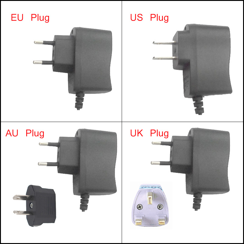AC Power Charger Adapter Directly To Battery Flashlight Charger for 18650 battery of head light lighting accessories