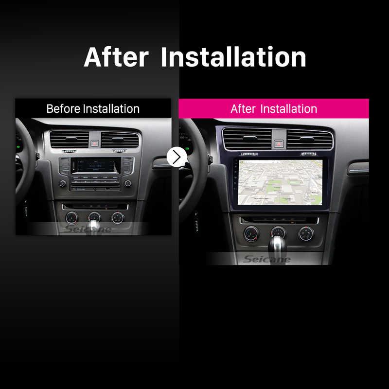 """Seicane 10,1 """"Android 8,1/7,1 con pantalla táctil Bluetooth 2 DIN Car Radio GPS navegación para 2013 de 2014 de 2015 VW golf 7 con WIFI FM"""