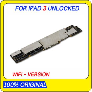 A1403 A1416 lub A1430 płyta główna dla ipad 3 płyta główna pełne żetony oryginał odblokowany dla ipad 3 tablica logiczna bez iCloud tanie i dobre opinie TDHHX for ipad 3 Motherboard Wewnętrzny Apple iphone Original Disassemble Unlocked and used 16gb 32gb 64gb WIFI VERSION WIFI - 3G Version