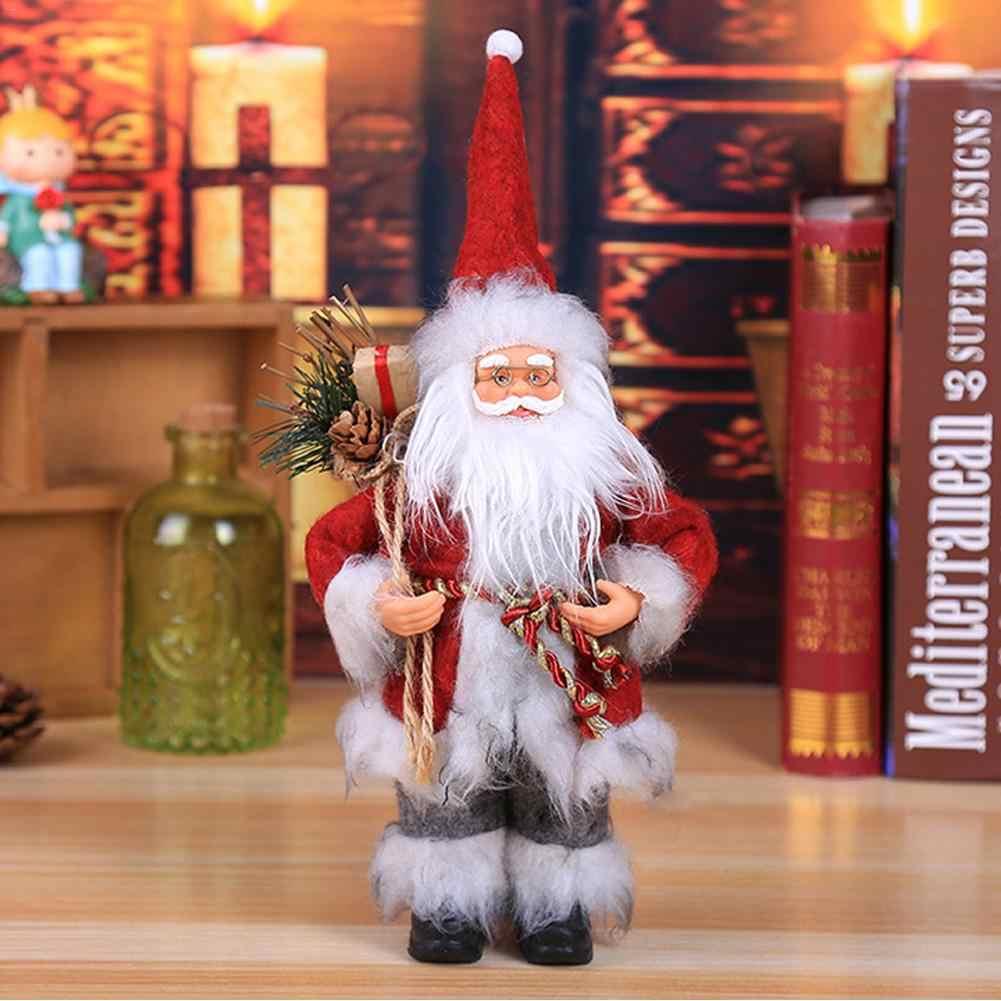AUGKUN Рождественский орнамент Смоделированный старый человек Рождественская маска старая кукла мужчины вечерние украшения события
