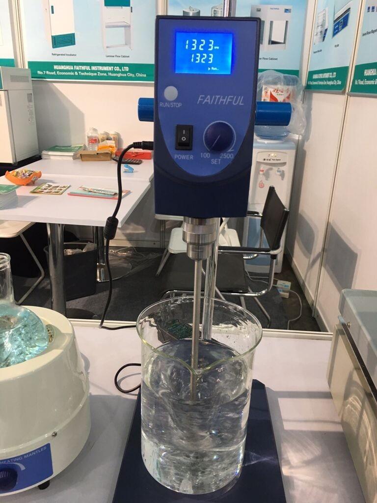 SH-II-6C Laboratory Digital Display Stirrer Plate Electric Agitator,Overhead High Concentration Stirring,2L,5L,20L,40L Volume free shipping stir volume max 100l high performance laboratory overhead stirrer