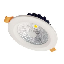 High Bright Dimmable 9W 12W 15W  LED Downlight Frosted Glass Lens LED Recessed Ceiling Light Spotlight AC110V/220V
