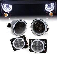 LED for Jeep Wrangler JK 2007-2016 Front Turn Signal Light Y