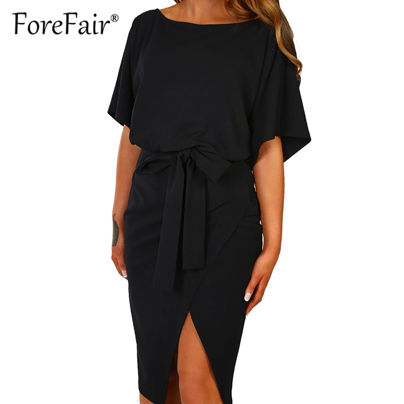 top 10 largest black split midi dress ideas and get free
