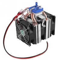 DC12V 120W DIY Water Cooling Device Thermoelectric Cooler Semiconductor Refrigeration for Fish Tank Mini Fridge