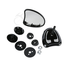 10mm Inner Fairing Rear Side Mirrors For Harley Touring Electra Tri Glide 14-18 Street Glide Ultra Limited FLHTCU Motorcycle motorcycle accessories front inner accent fairing buffer cushion pad harley electra street glide ultra custom