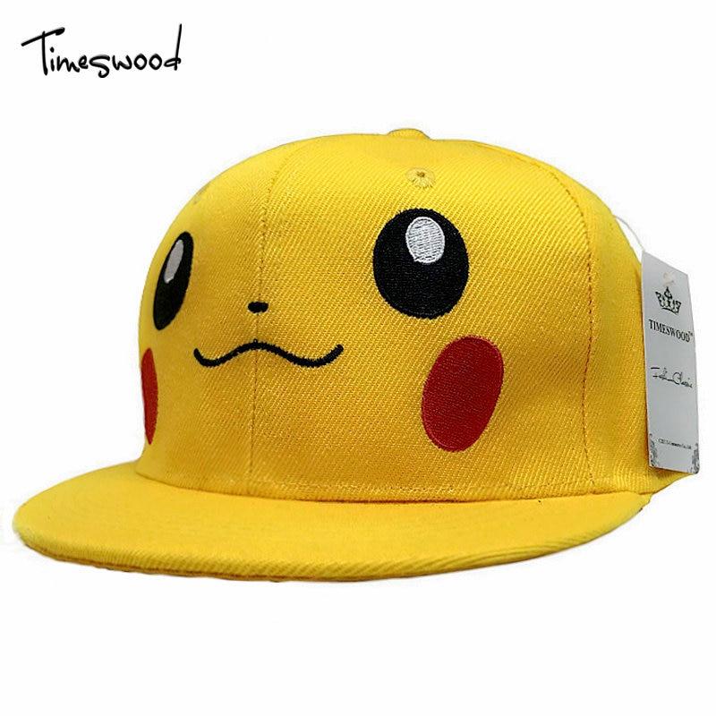 Brand Game Pokemon Go Hats Hip Hop Yellow Duck Baseball Cap Hat Team Valor Team Mystic Team Instinct Snapback Pokemon Men Women