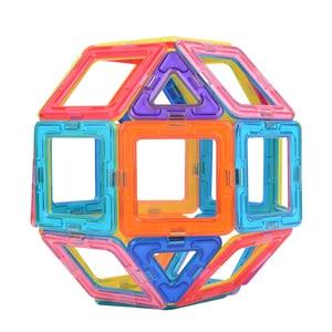 Image 2 - VINEDI grande taille blocs magnétiques magnétique concepteur constructeur ensemble modèle et construction jouet aimants jouets éducatifs pour les enfants