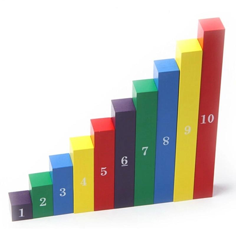 Juguete para bebés Varillas de barras numéricas Montessori - Educación y entrenamiento - foto 3