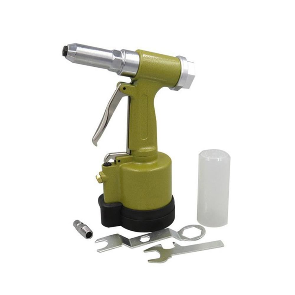 Short Cylinder Pneumatic Nail Gun Kp-701 Industrial Grade Pulling Riveting Nut Gun Wind Core Rivet Gun