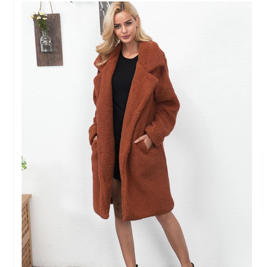 Womail Sweater Cardigans Long-Sleeve Outerwear Jacket Winter Clothes Women Coats Dec25