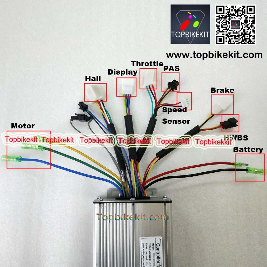 S12S-T12S 36V48V500W Torque Simulation Sine Wave Controller For ebike-36V-500W-48V-500W-Hub-motor (1)