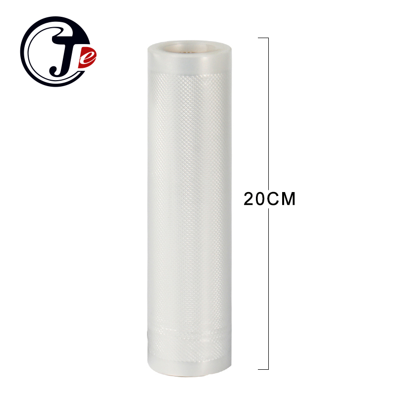 2 roll 20*500CM vacuum packaging bag  Portable Handy Wrappers vacuum food sealer machine bags for sealing machine packages PA+PE pfs 200 impulse quick rapid plastic pvc bag sealing machine sealer for food medical packaging packing manufacturing industry