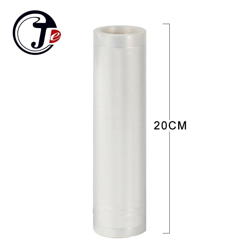 2 roll 20*500CM vacuum packaging bag Portable Handy Wrappers vacuum food sealer machine bags for sealing machine packages PA+PE