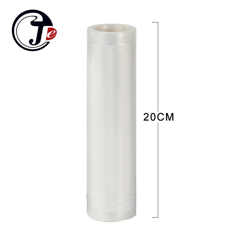 2 rolle 20*500 cm vakuum verpackung tasche Tragbare Handliche Wrapper vakuum lebensmittel sealer maschine taschen für abdichtung maschine pakete PA + PE