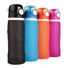 750ML Portable Foldable Leakproof Water Bottle