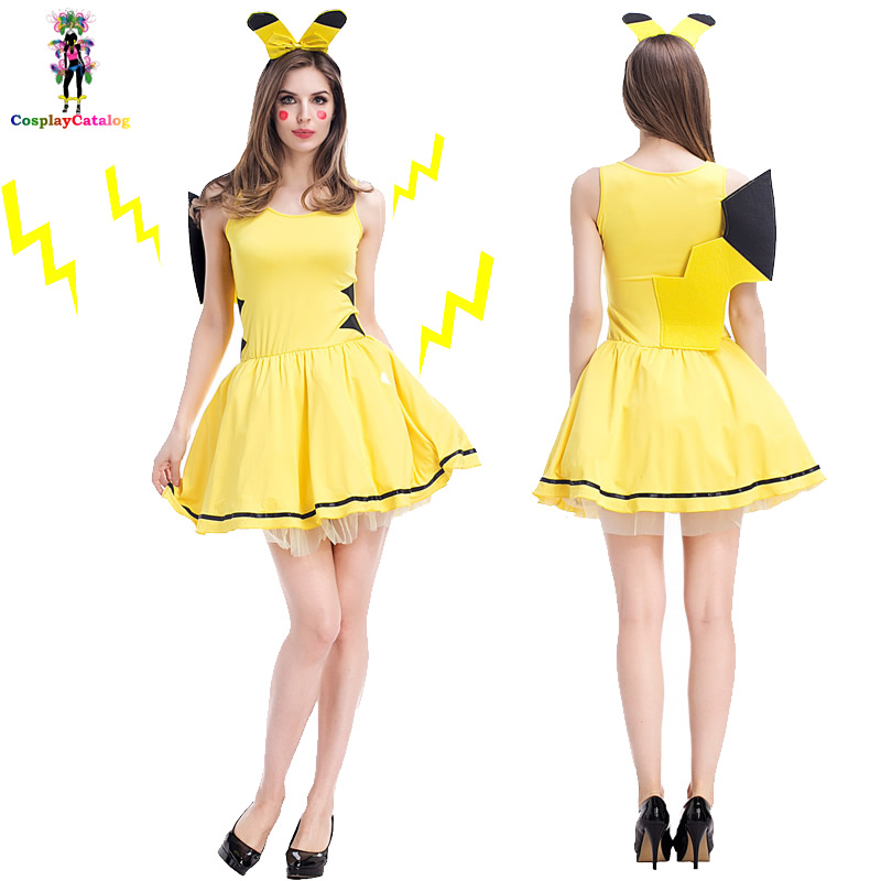 halloween-yellow-cartoon-font-b-pokemon-b-font-pikachu-fancy-dress-for-women-adult-sexy-cute-anime-party-wear-girl-festival-dance-costumes