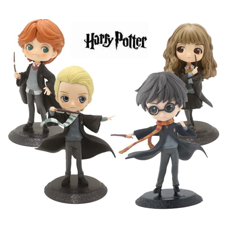 Harry Potter Action Figures Qposket Toys Hermione Weasley Malfoy 15cmHarry Potter Action Figures Qposket Toys Hermione Weasley Malfoy 15cm