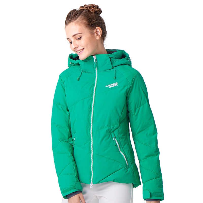 Menjalankan Sungai Perempuan Merek Ski Jaket S-XXXL Ukuran 4 warna Salju Jaket Untuk Wanita Musim Dingin Olahraga Termal Jaket # L4973