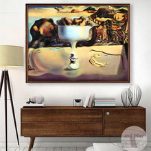 Salvador Dali Surrealism Canvas Art Print Painting Poster Wall Pictures For Living Room Home Decorative Decor No Frame