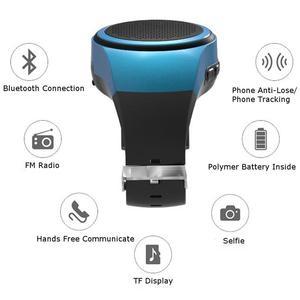 Image 2 - B20 smart watch z samowyzwalaczem Anti Lost Alarm muzyka Sport Mini głośnik wzmacniacz Bluetooth karty TF Radio FM ręce  bezpłatny przenośny