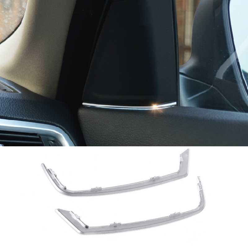 Car Front Door Audio Speaker Strip Stereo Decal Cover Trim Sticker For BMW 5 Series 525 520 F10