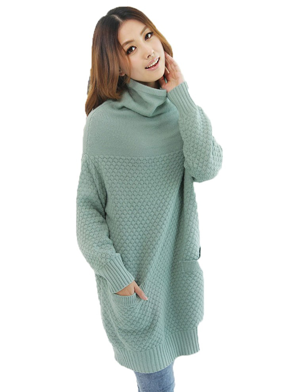 Wool Turtleneck Sweater Dresses for Women | Dress images