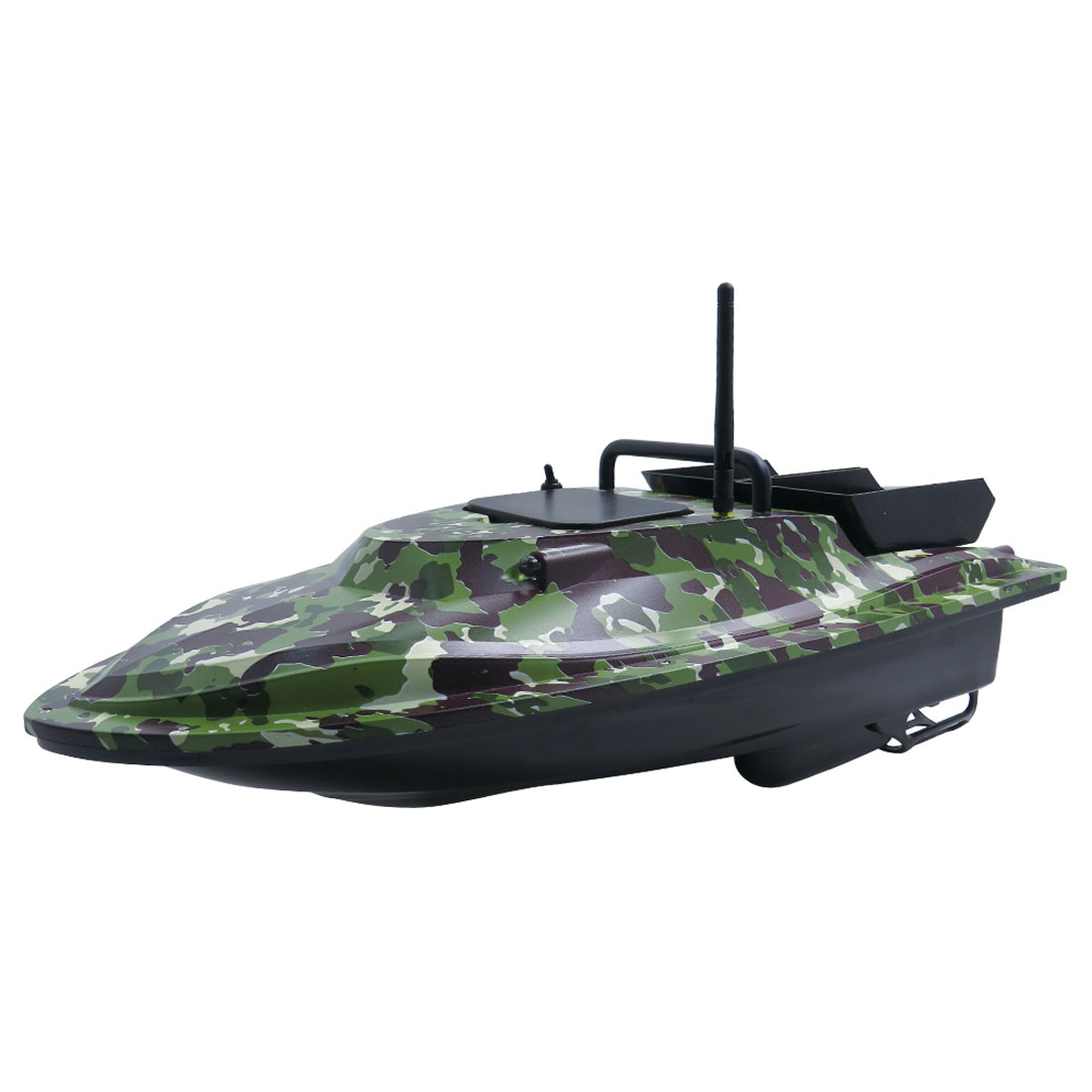 Flytec V007 Huge RC Fishing Bait Boat 500M Fishing Bait RC Boat Remote Control Ship with Light US Plug Camouflage Green - 2