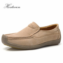 Hosteven Women Shoes Sneaker Loafers Genuine Leather Flats Moccasins Spring Autumn Female Casual Ladies Footware