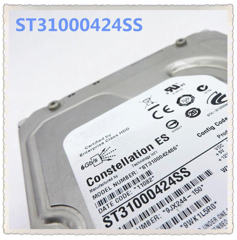 ST31000424SS 1 T Gb SAS 7.2 K 3.5 polegada 6 U738K Garantir Novo na caixa original. Prometeu enviar em 24 horas