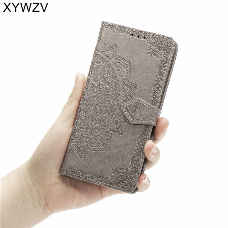 Image 4 - Huawei Y9 Prime 2019 Case Shockproof Popular texture Soft Silicone Phone Case Card Holder Fundas For Huawei Y9 Prime 2019 Cover-in Flip Cases from Cellphones & Telecommunications