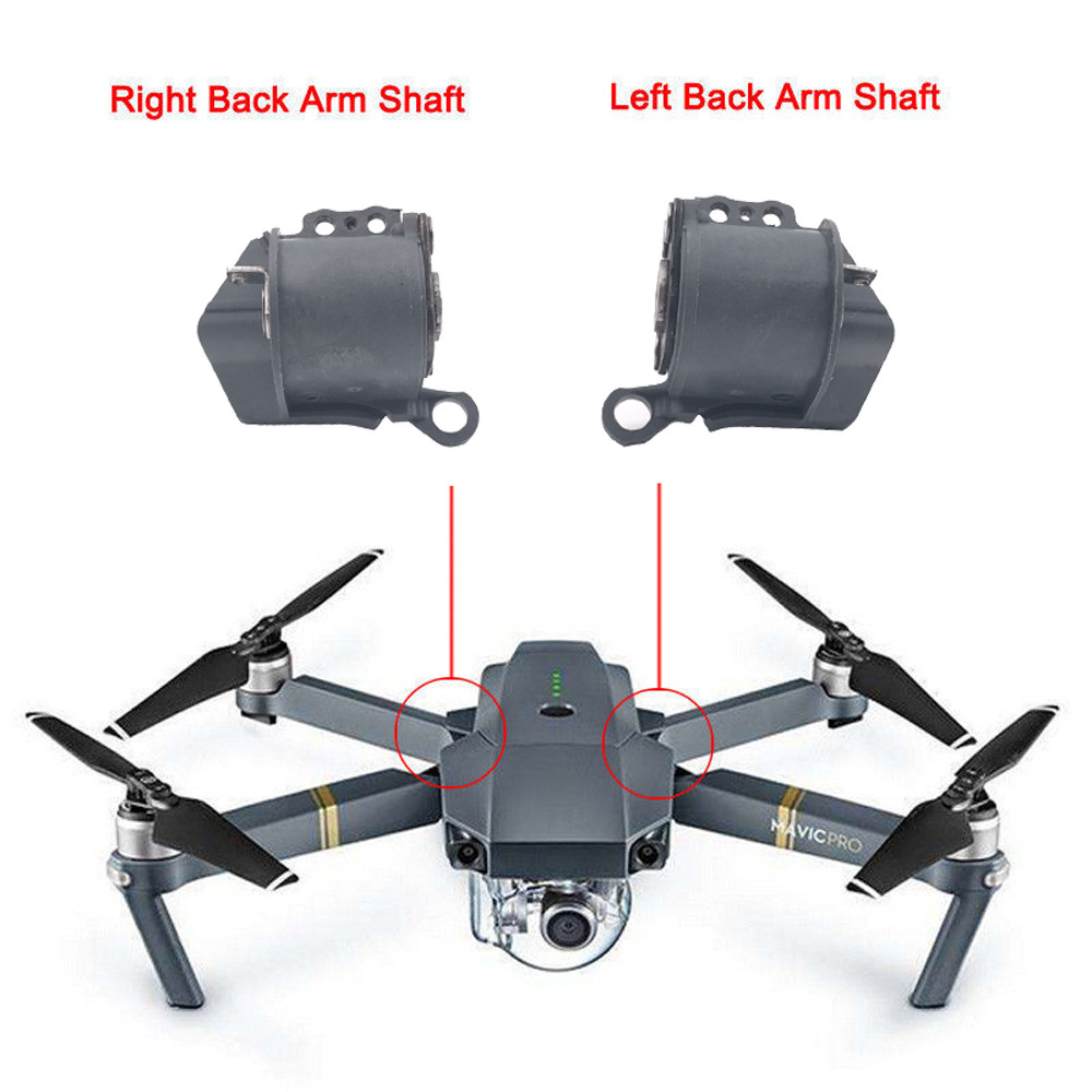 Left Right Back Rear Axis Arm Shaft Repair Part Replace for DJI Mavic Pro font b