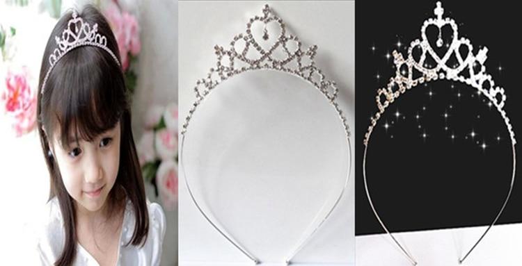 HTB1W822JVXXXXbJXXXXq6xXFXXXb Dazzling Rhinestone Crystal Girl Princess Headband Tiara - 15 Styles